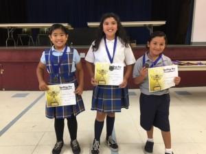SAP Spelling Bee Winners