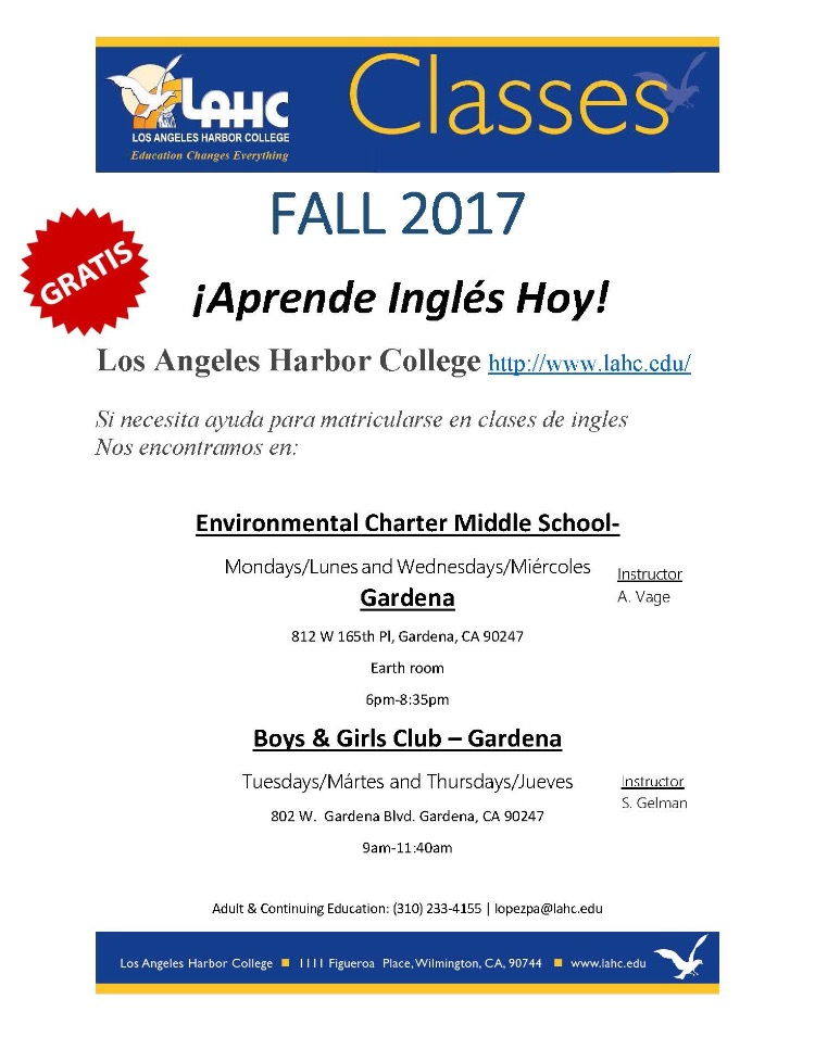LAHC Classes