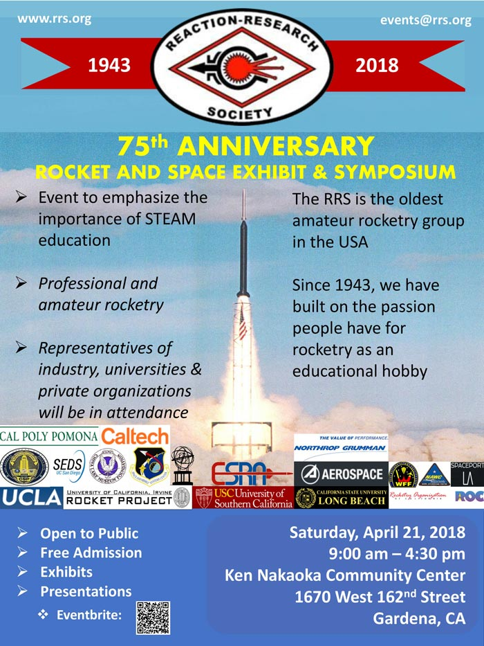 75th Anniversary Rocket and Space Symposium Invitation